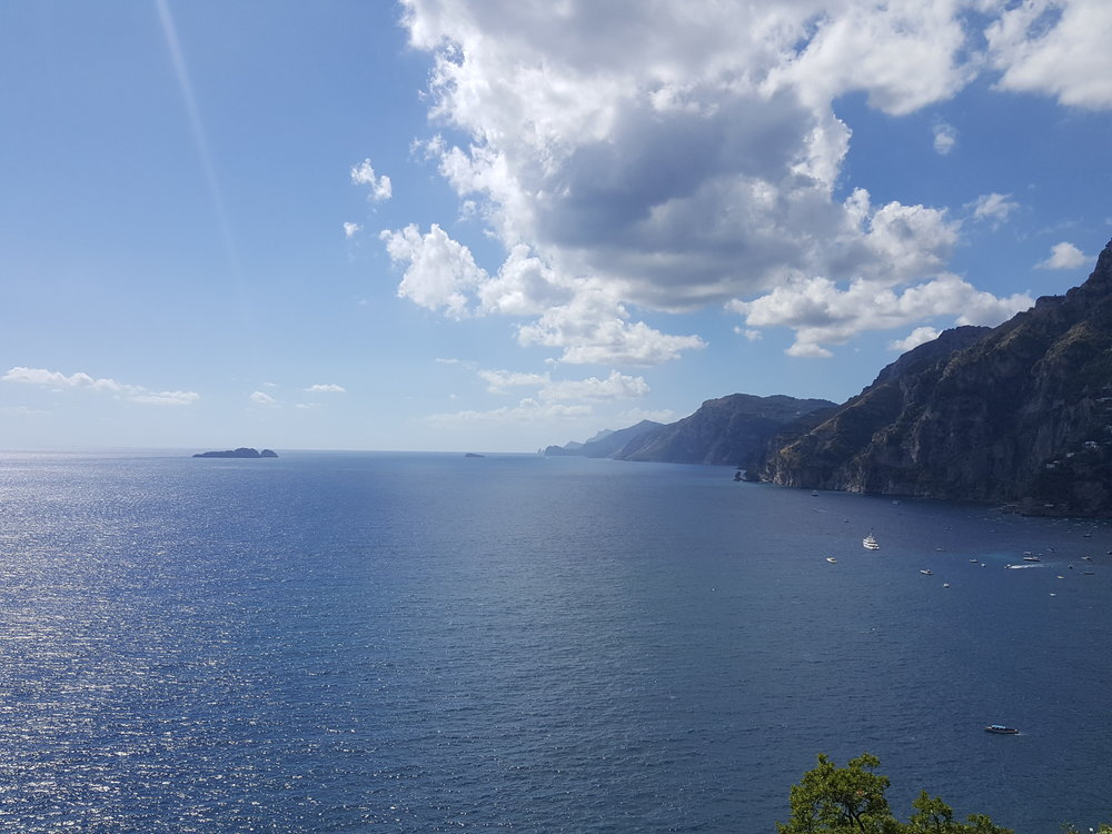 Some blue-ass water along the Amalfi Coast