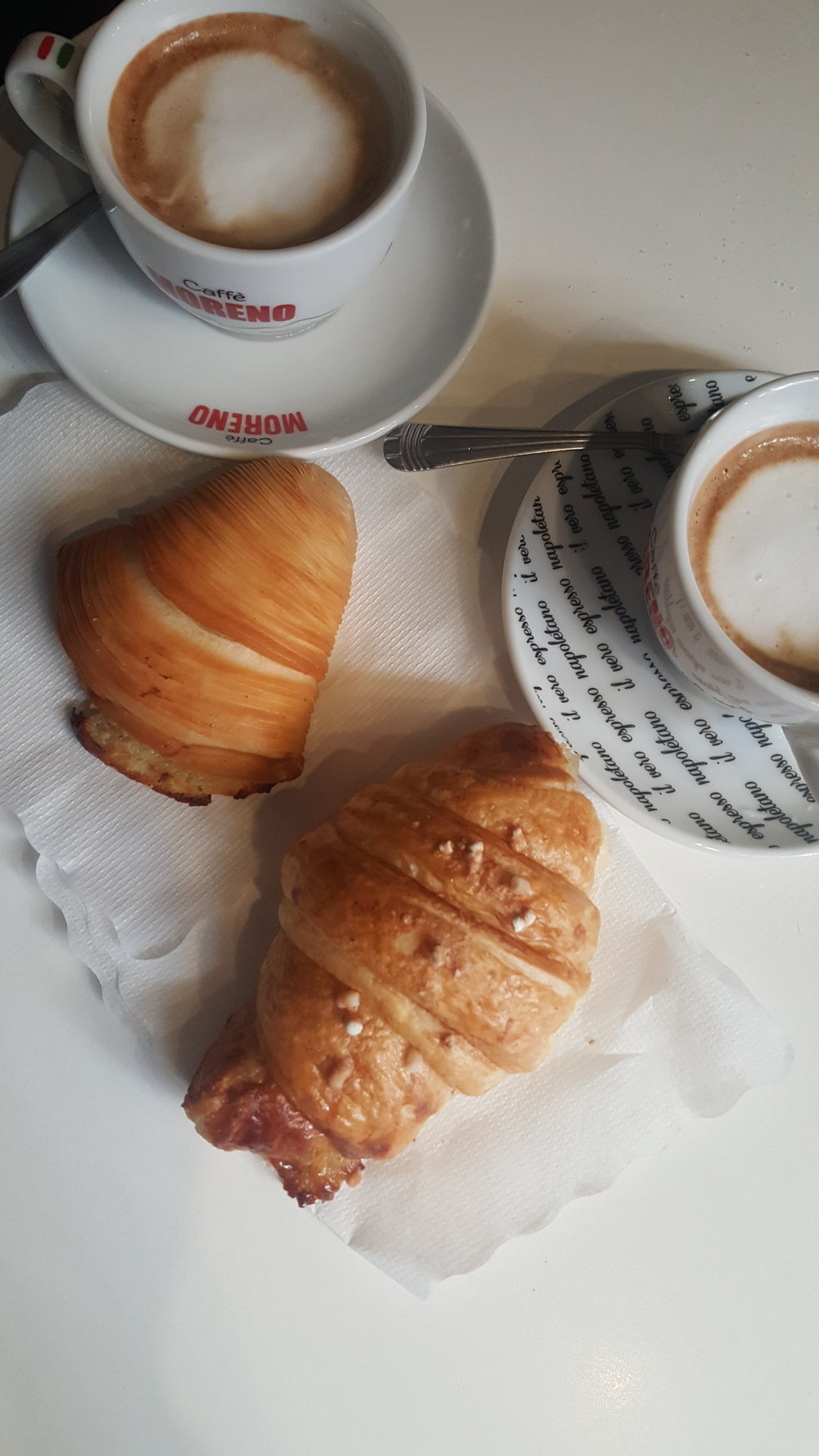 Breakfast, Italian style!