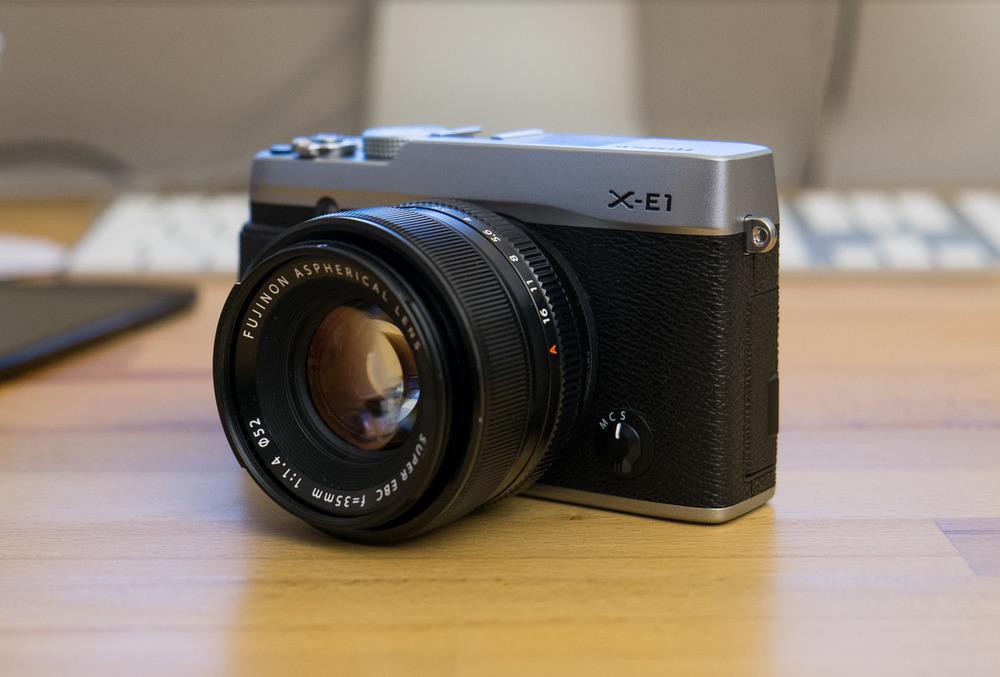 Die Fujifilm X-E1
