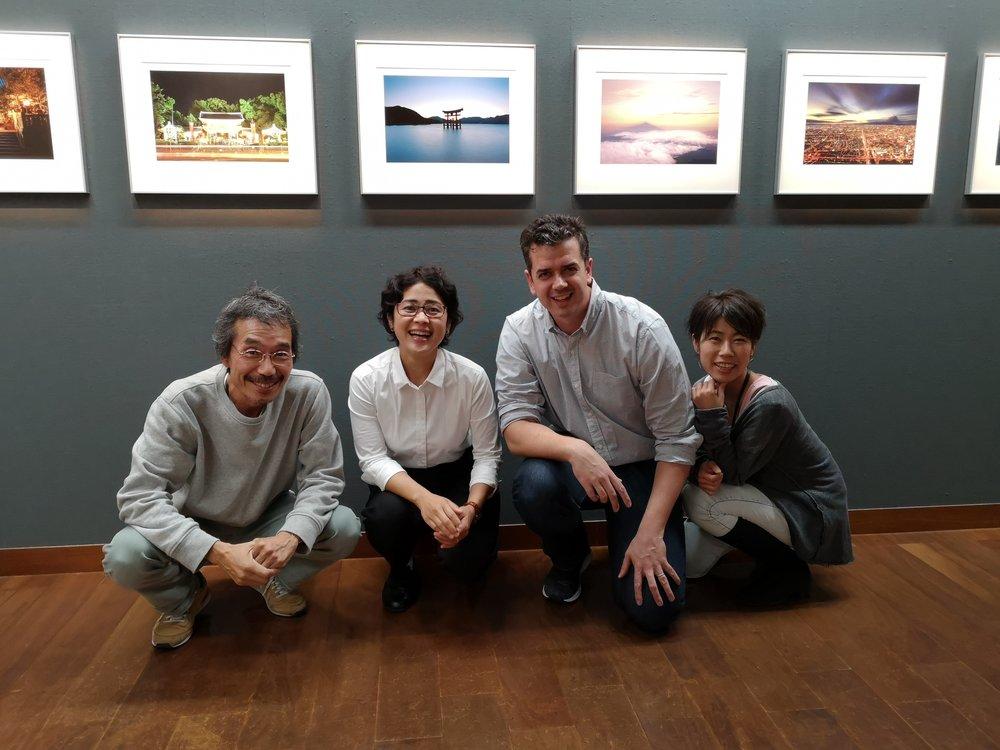 Akita-san, Masae, Me and Shimida Maki-san.