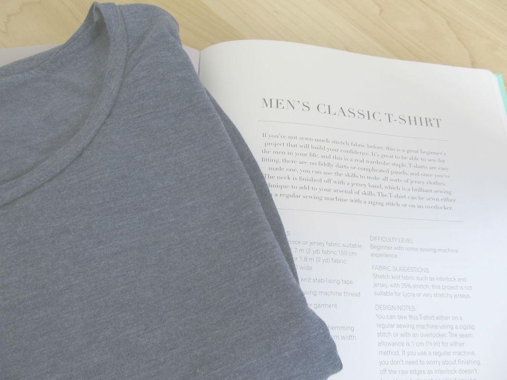 Classic man's tee fabric