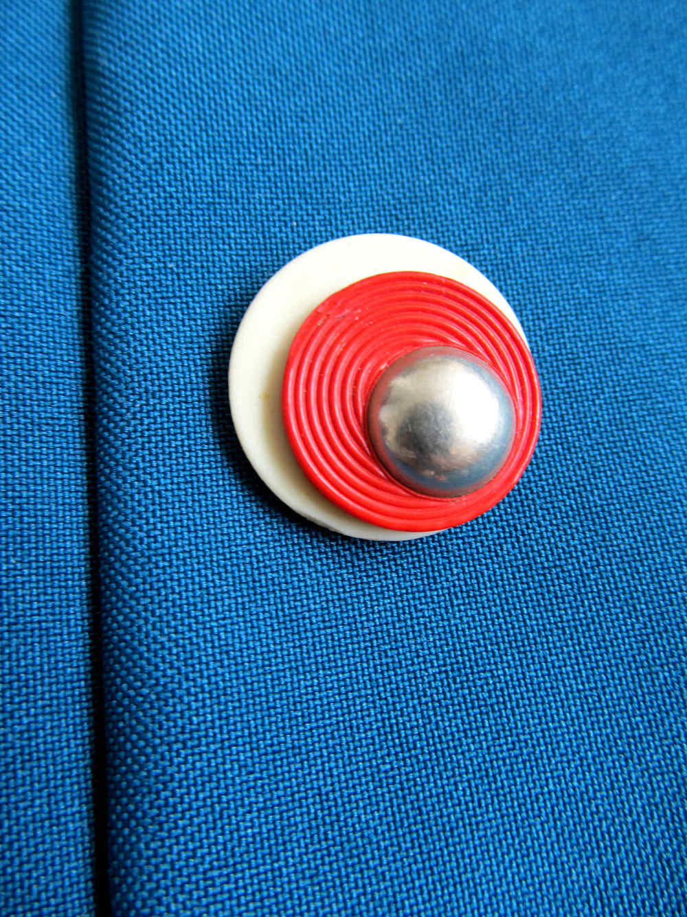 Button close up