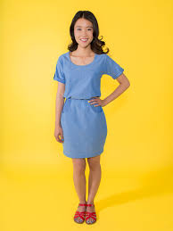 The Bettine by Tilly and the Buttons - a great staple and year round dress!