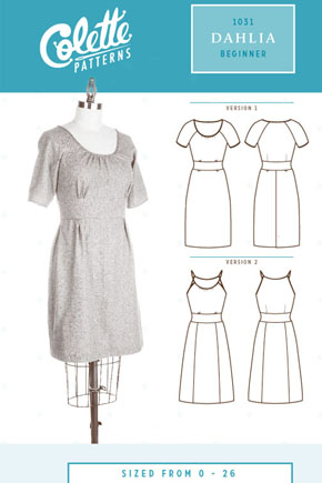 The Dahlia by Colette Patterns has been on the 'to sew' list for a while...