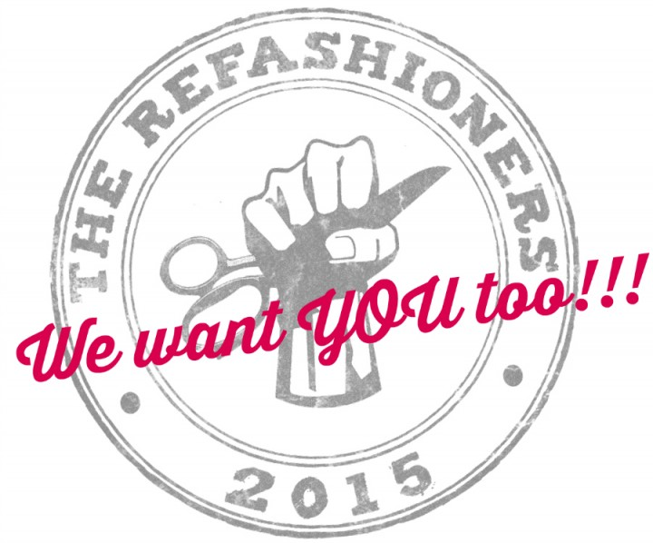 The refashioners 2015 - a challenge not to be missed!