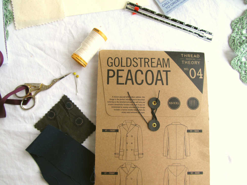Planning the Goldstream Peacoat.