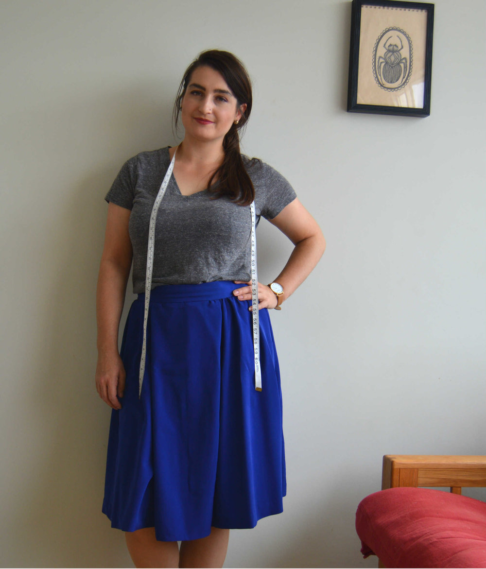 Sew Over It Box Pleated Skirt