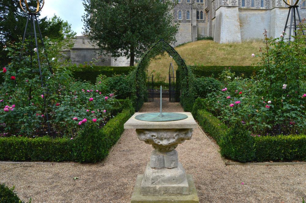 Arundel castle - sundial