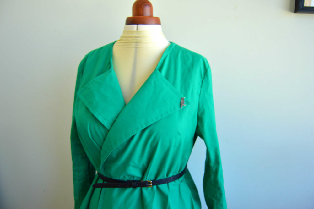 simple sew trench