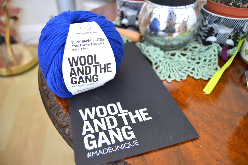 My new project - wool and the gang Florence sweater