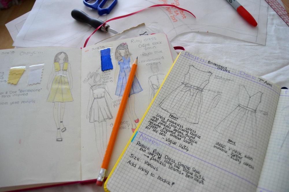 Sketching. Sketching. Sketching.