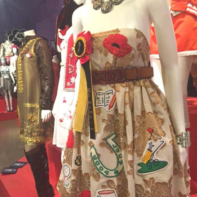 Anna Sui prom dress