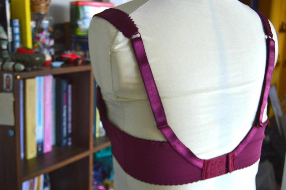 Pin Up Classic bra - bra making course Brighton