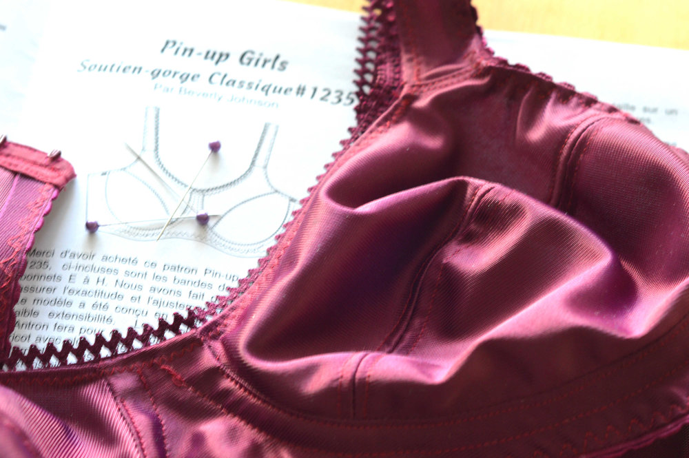 Pin Up Girls classic pattern - bra making course Brighton