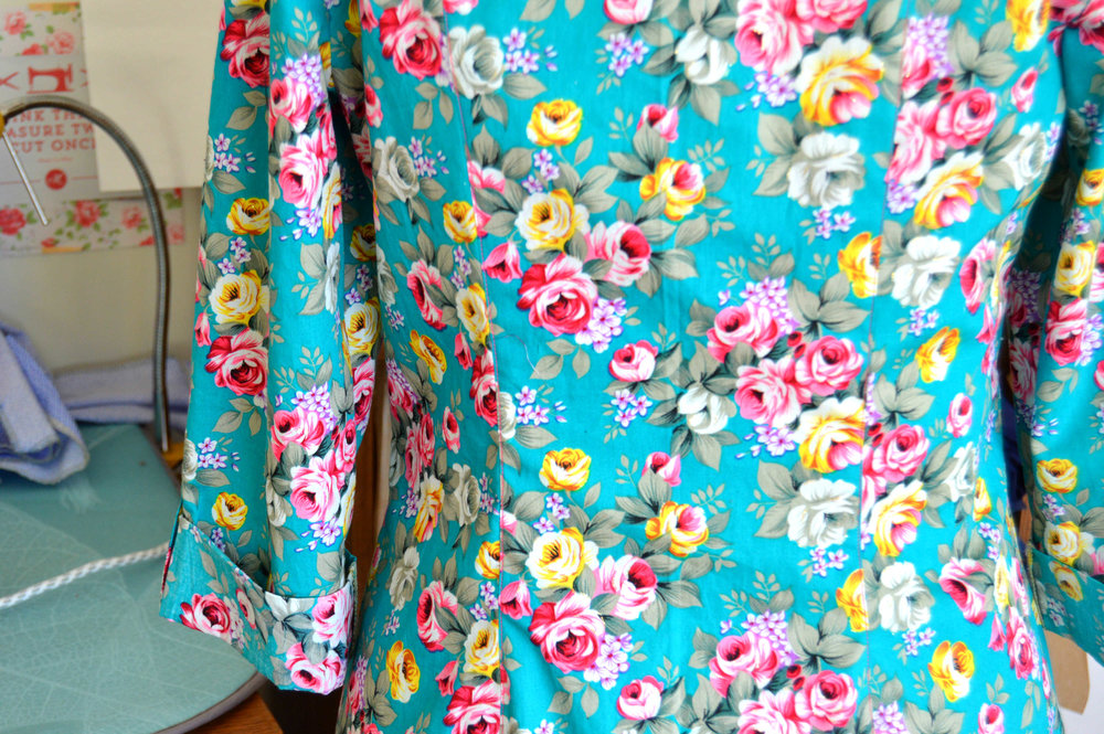 Rosa shirt dress floral Tilly and the buttons