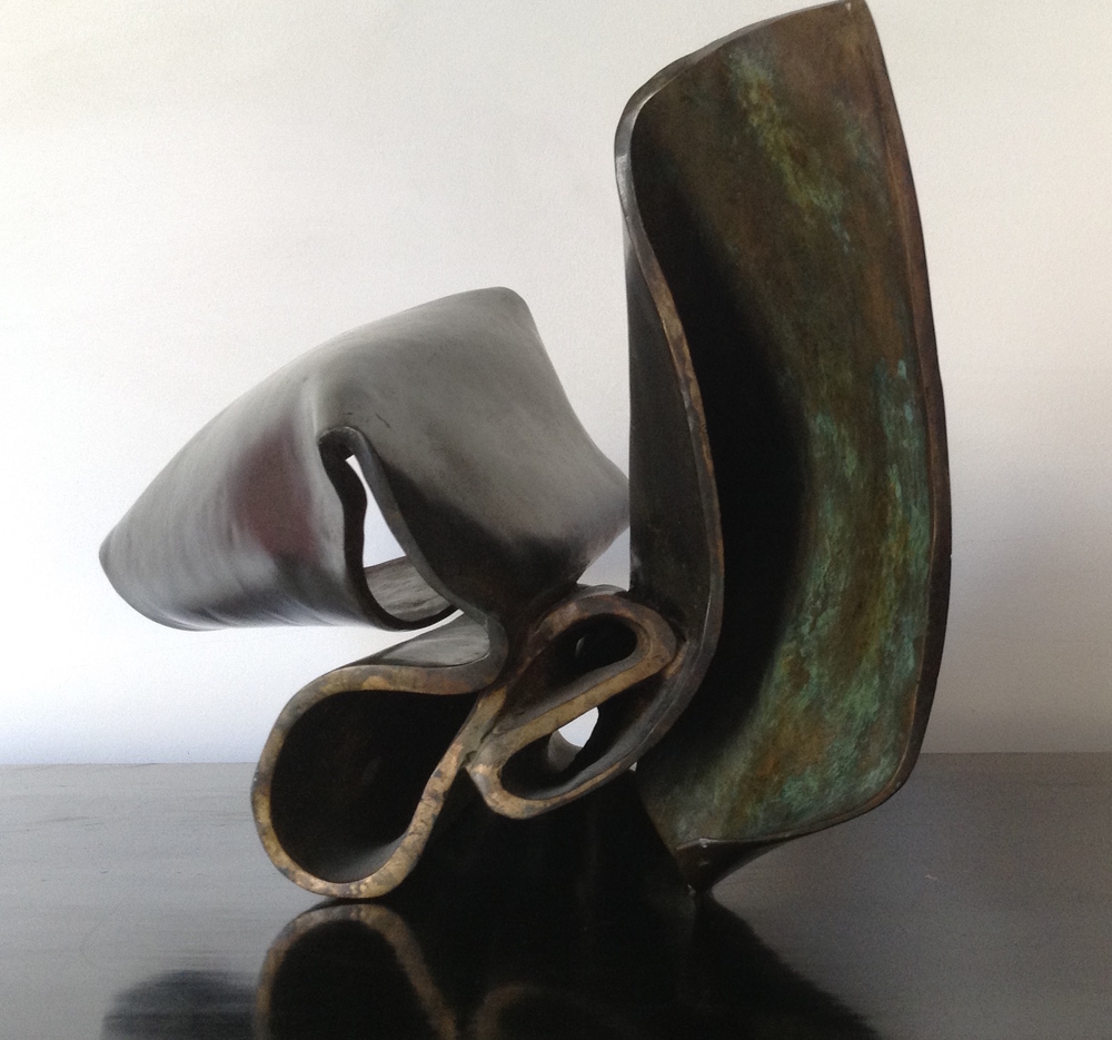Title: Derivatives of the air 1    Materials: Bronze  Date: 2010-2015