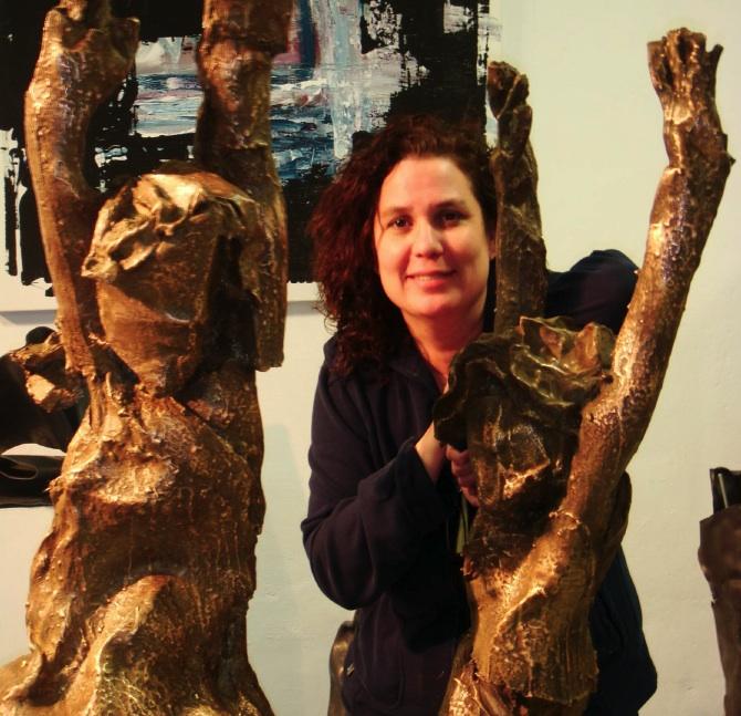 Beatriz González de la Vega, escultora