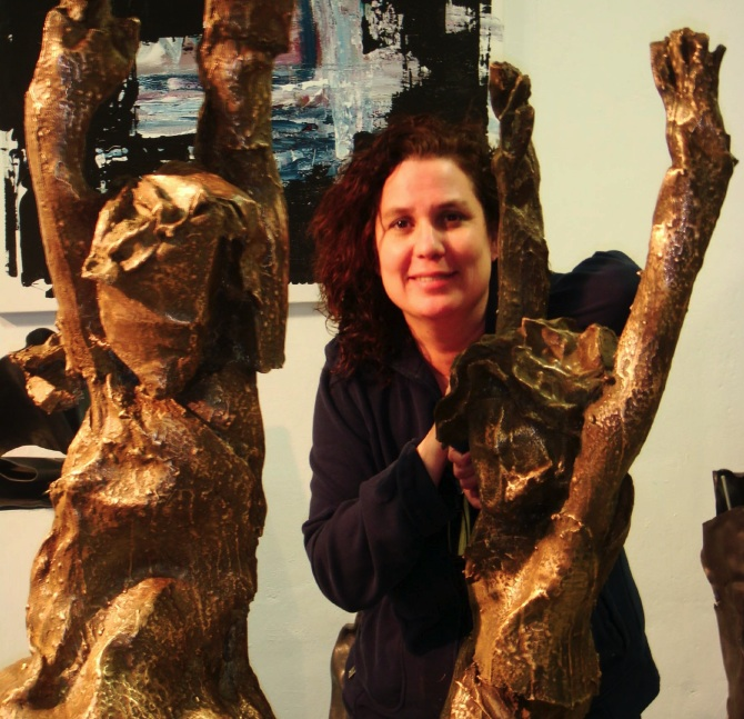 Beatriz González de la Vega, sculptor