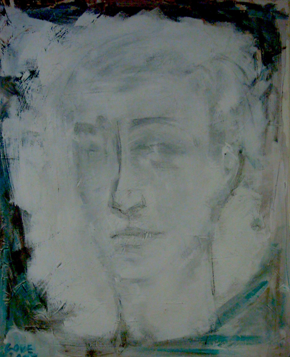 Título: Retrato    Materiales: Pintura