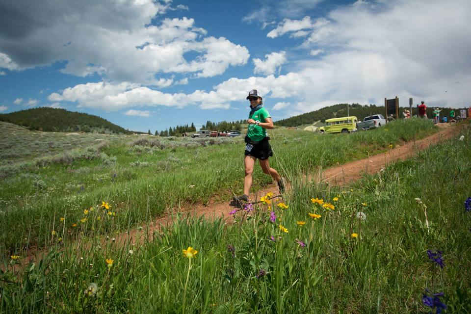 We are excited to announce that Silke Koester from the Rocky Mountain Runners Club won the Big Horn 100 mile race this past weekend! Silke wore her Naked Running band providing her with her most important nutritional and hydration needs.