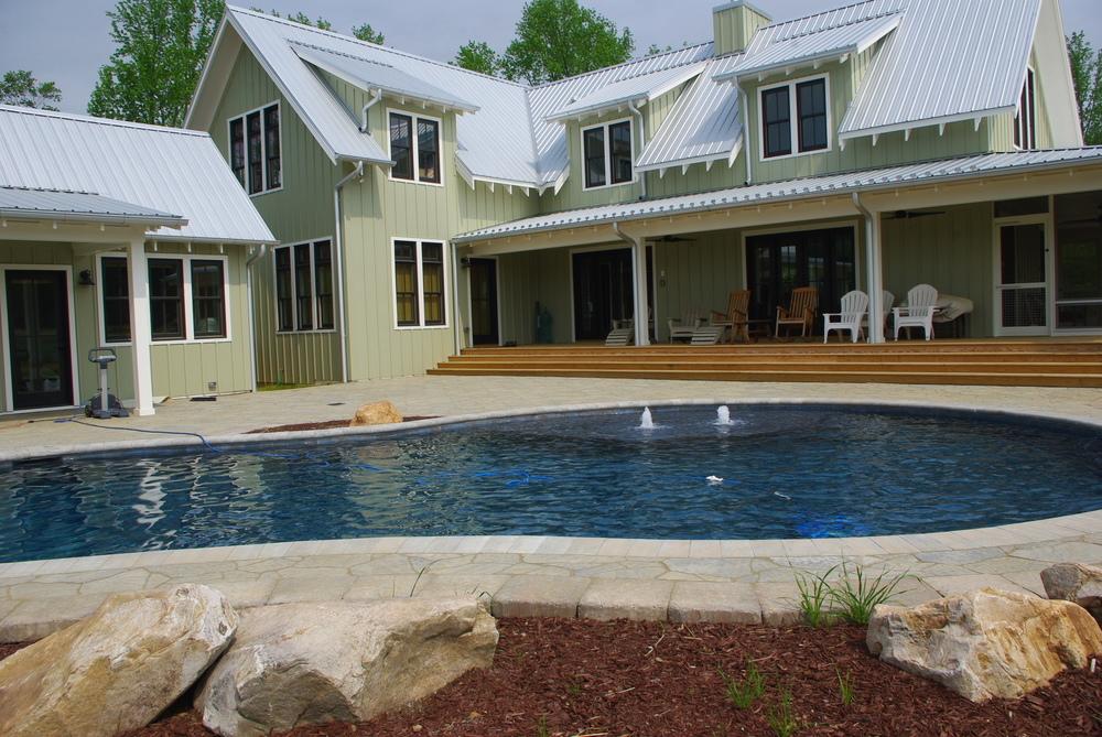 New Pool Construction- 3D Landscape Design Raleigh, NC