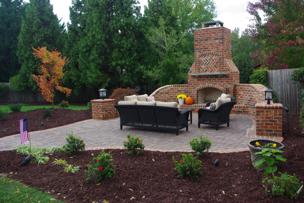 Outdoor Room Design- 3D Landscape Design Burlington NC