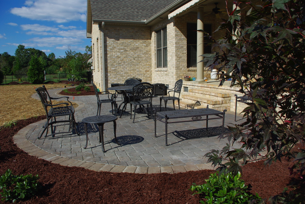 New Patio- 3D Landscape Design Burlington, NC