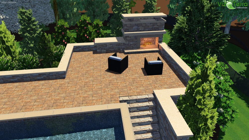3D Landscape Design- Winston-Salem, NC