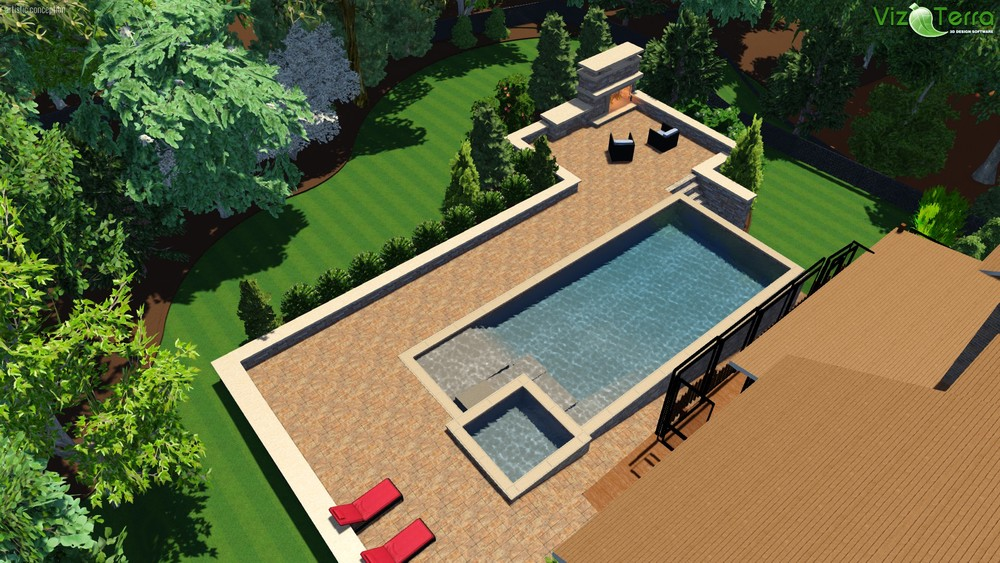3D Pool Design- Winston-Salem, NC