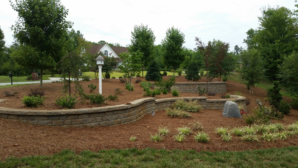 Steep Slope Abatement- 3D Landscape Design Greensboro, NC