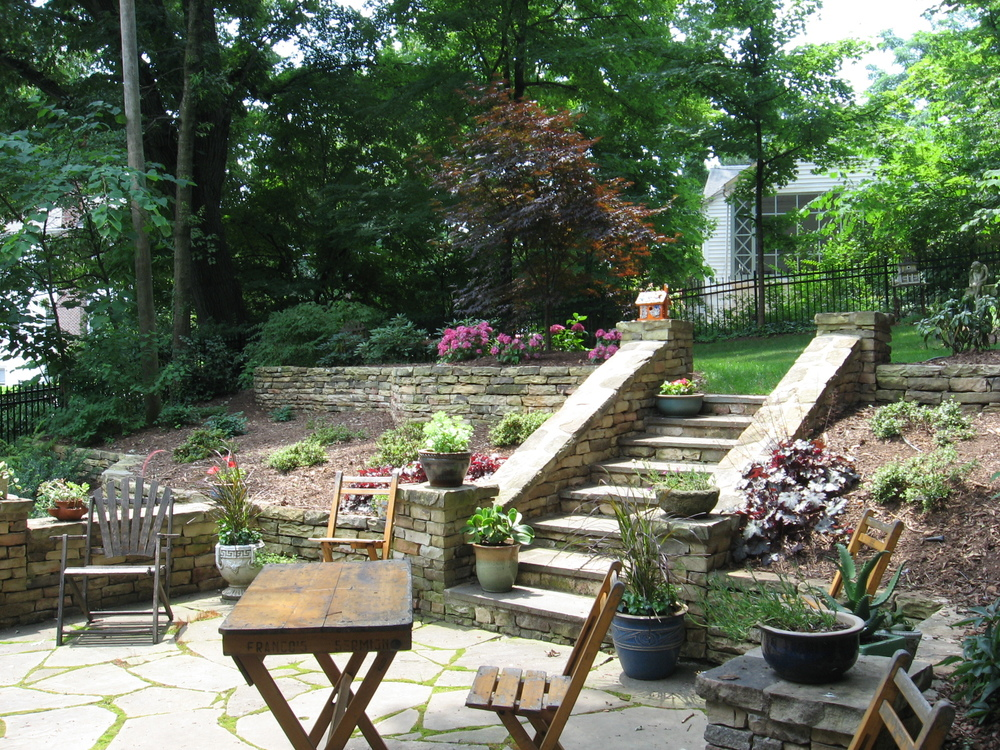 Craftsman Renovation- 3D Landscape Design Winston-Salem, NC