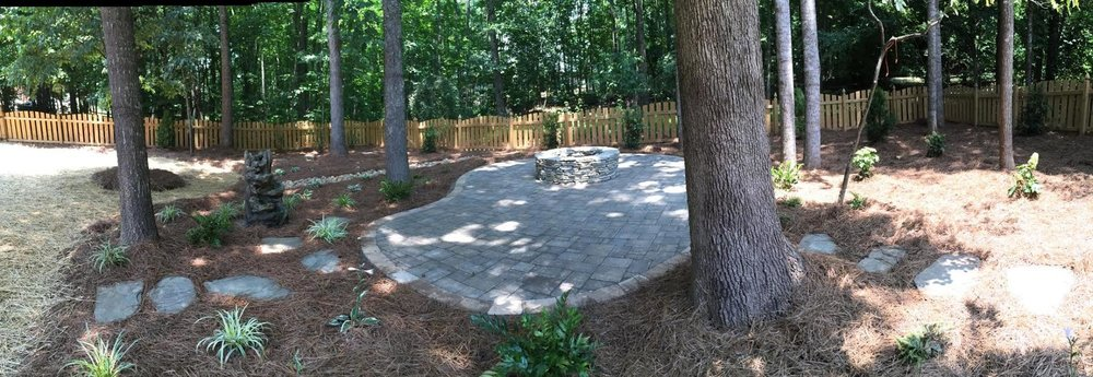 Firepit and Patio- Greensboro, NC
