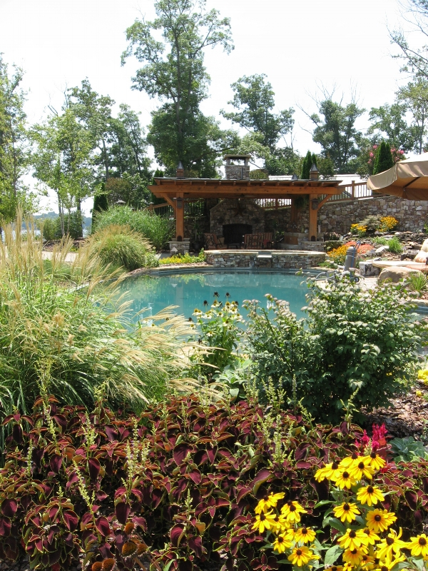 New Pool Environment- 3D landscape Design High Rock Lake, NC