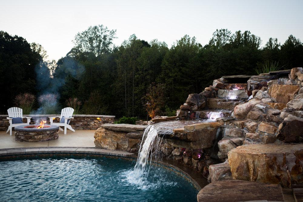 Grotto Design- 3D landscape Design Greensboro, NC