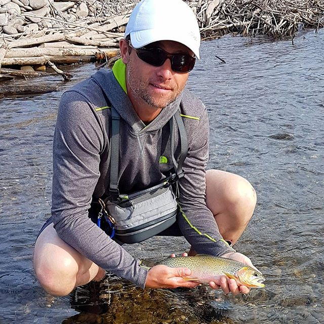 Late start to the season for us, but we found success!  #trouttown #ferniestoke #elkriver #flyfishing #cutthroat