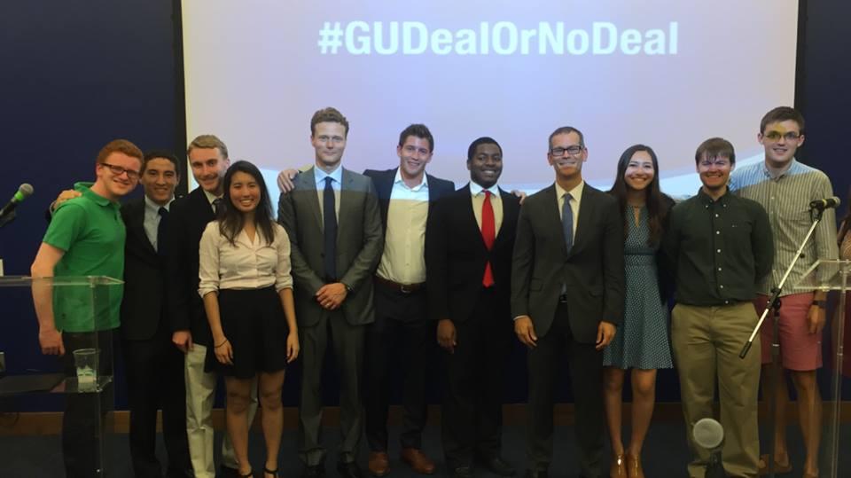 Iran Agreement Debate Gu College Democrats
