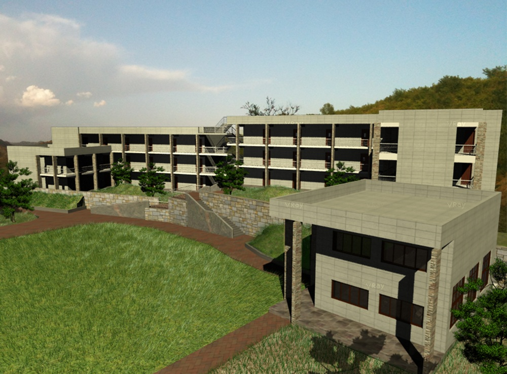 New school building (computer generated)