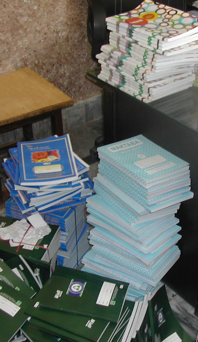 All stationery items are provided free of cost to the children