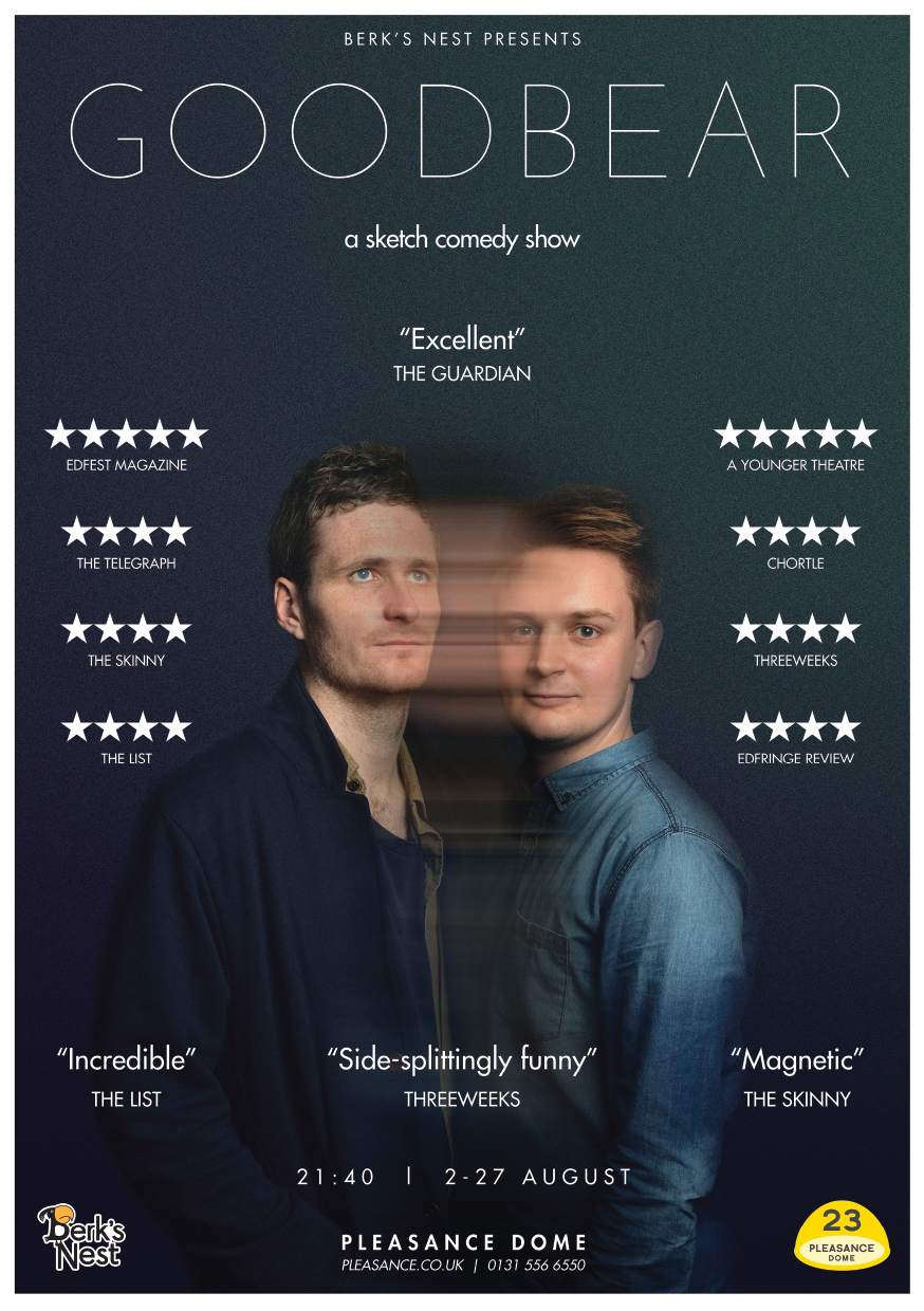 GOODBEAR  (Edinburgh & extended Soho Theatre run)