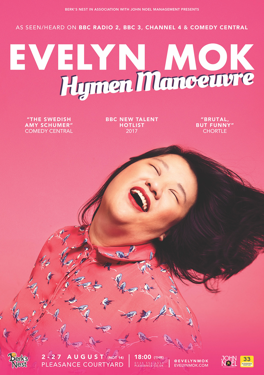 Evelyn Mok: Hymen Manoeuvre  (Edinburgh & Soho Theatre)