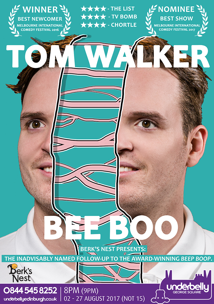 Tom Walker: Bee Boo  (Edinburgh, Melbourne, Adelaide & ABC1 Comedy Special)