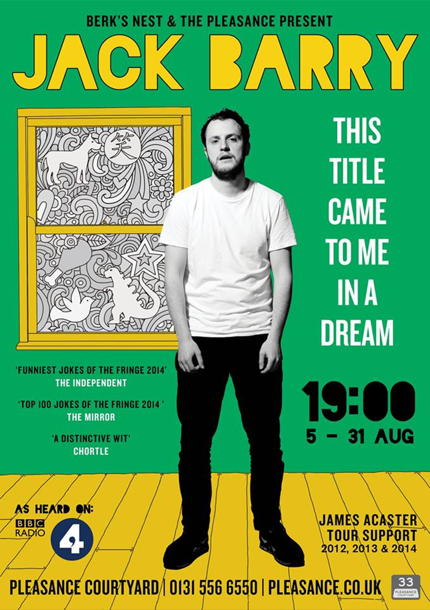 Jack Barry: This Title Came To Me In A Dream  (Edinburgh