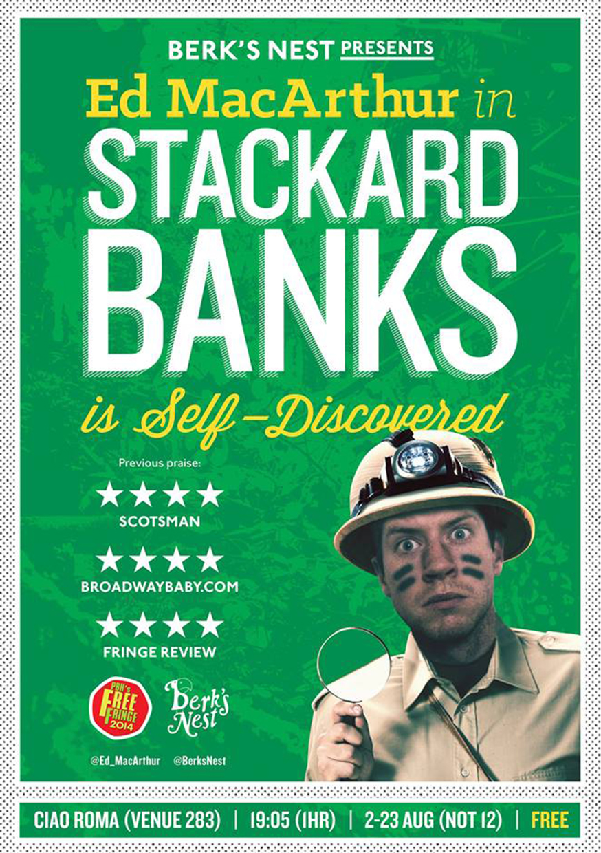 Ed MacArthur in Stackard Banks Is Self-Discovered