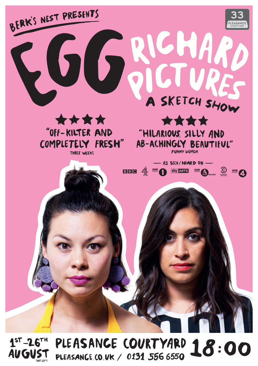 Egg: Richard Pictures   Pleasance Courtyard, 18:00
