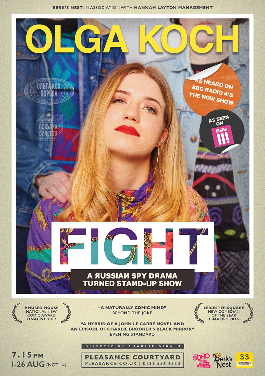 Olga Koch: Fight   Pleasance Courtyard, 19:15