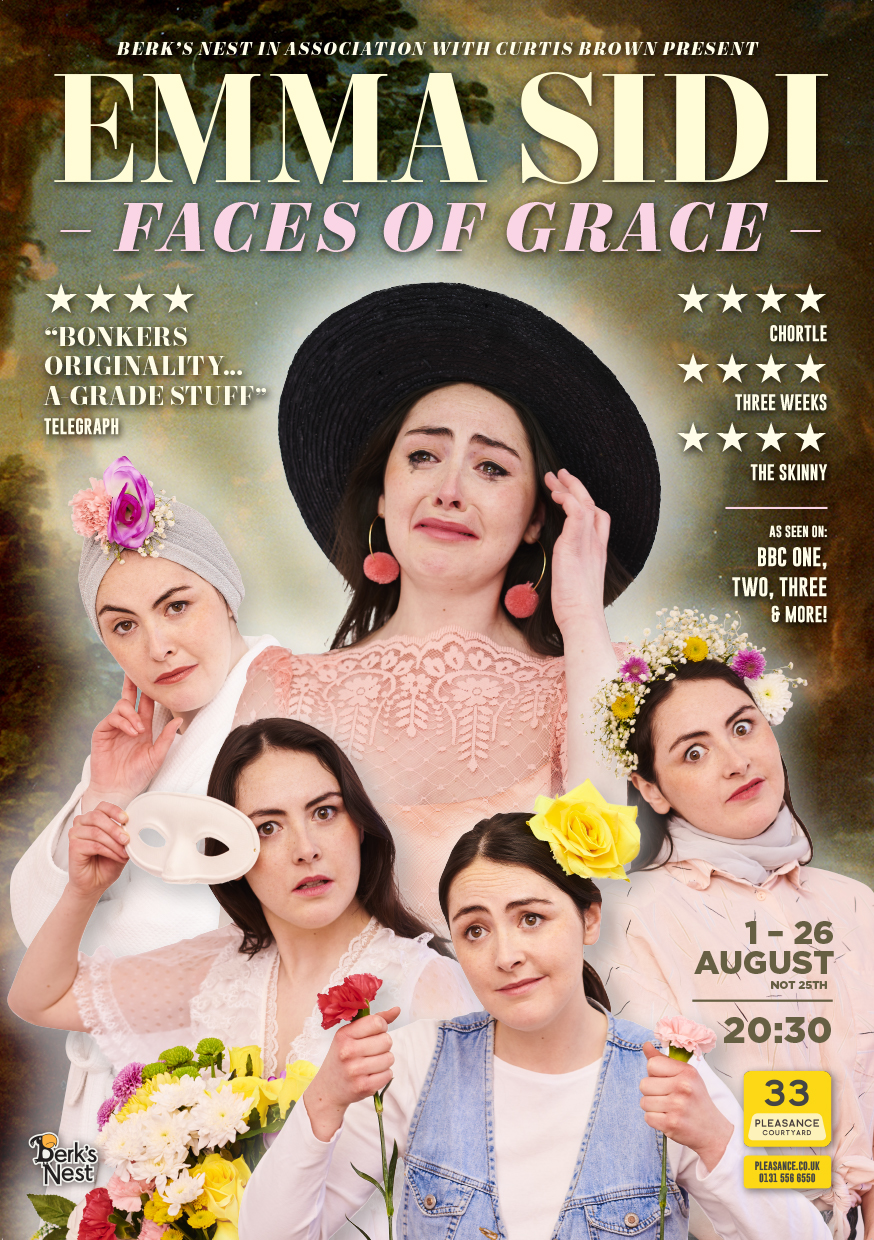 Emma Sidi: Faces of Grace   Pleasance Courtyard, 20:30