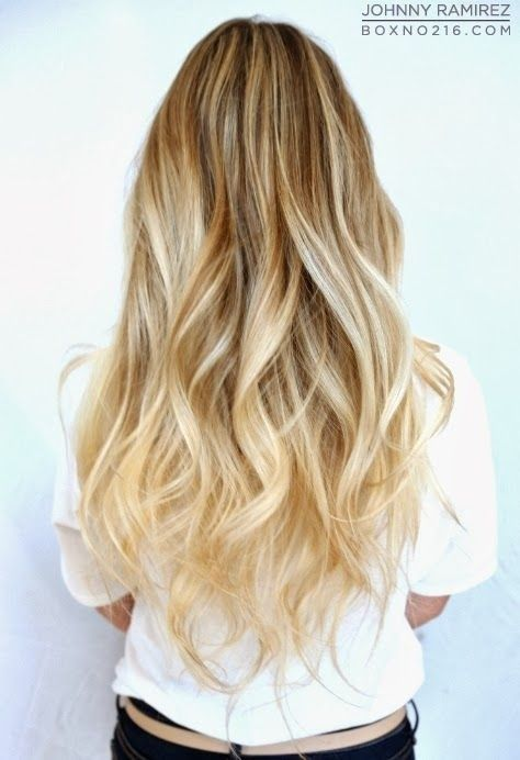 Perfect Blonde Waves