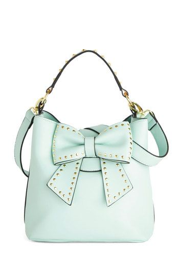 Mint Bow Purse