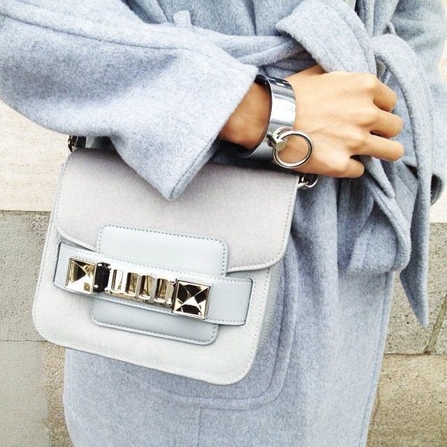 Pale Blue Winter Outfit by The Haute Pursuit