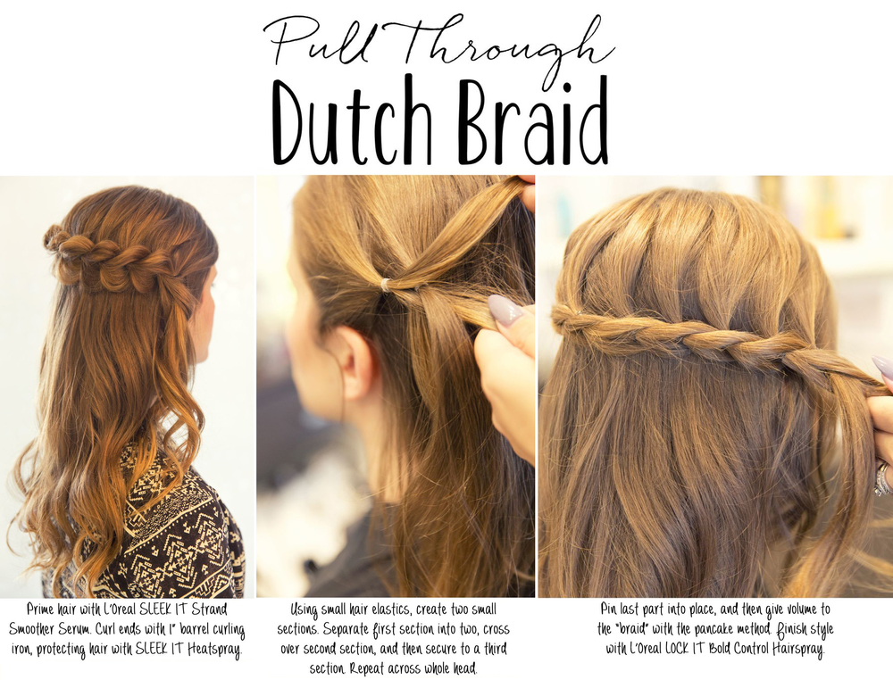 DIY Hair Tutorial - Dutch Braid